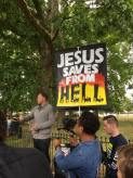 Ironically Jesus worshippers are in danger of hell for their blasphemy