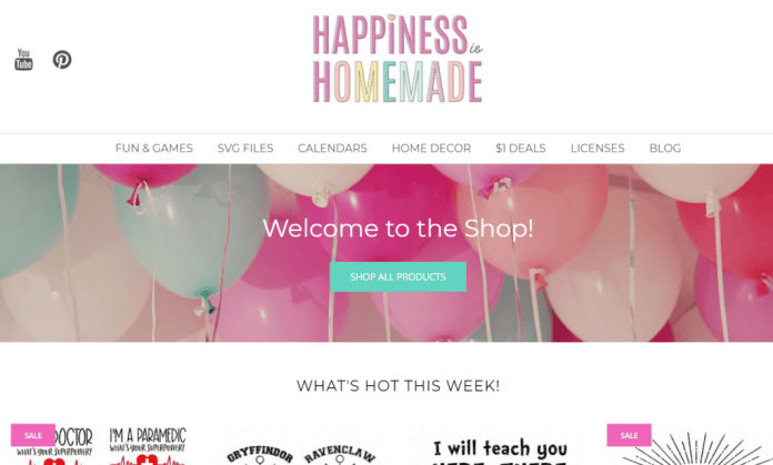 happiness is homemade shop