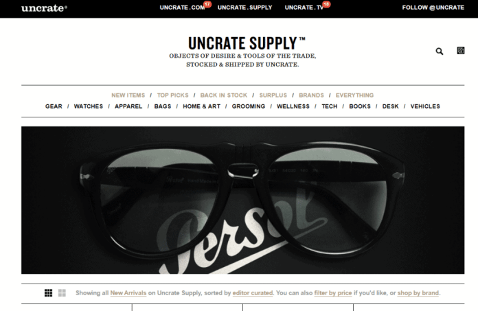 uncrate supply