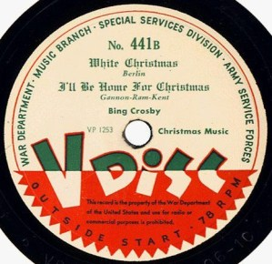 Song of the Day: I'll Be Home For Christmas
