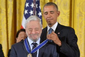 StephenSondheim Obama Mar181 1024x682 - Song of the Day: Being Alive