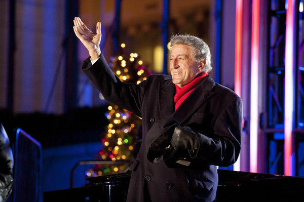 song of the day white christmas the year of tony bennett