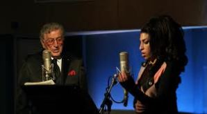 Tony Bennett and Amy Winehouse