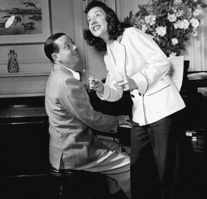 Cole Porter and Ethel Merman