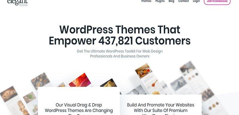 Cheapest WordPress Premium Themes Elegant