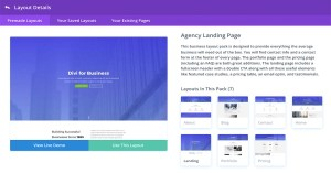Divi Single Layout Pack