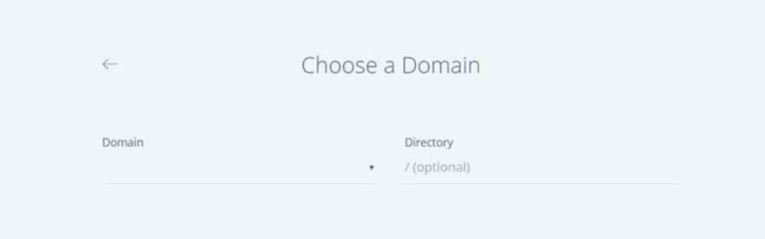 Choose Domain_Bluehost