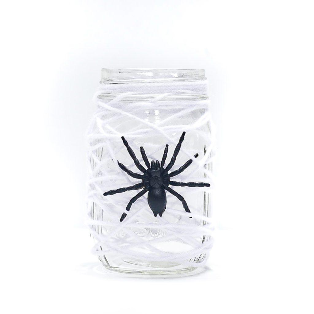 Halloween decor mason jar