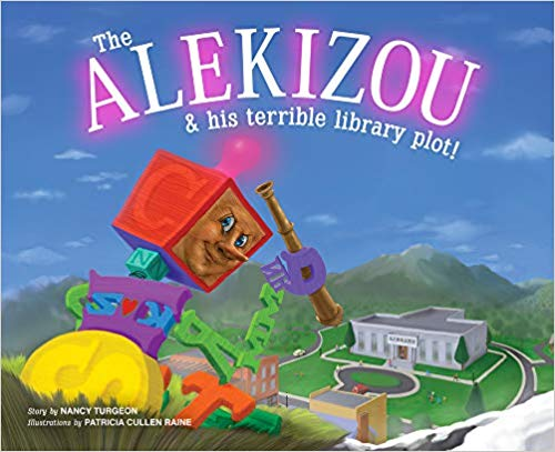 Super Fun Children Book- The Alekizou and His Terrible Library Plot