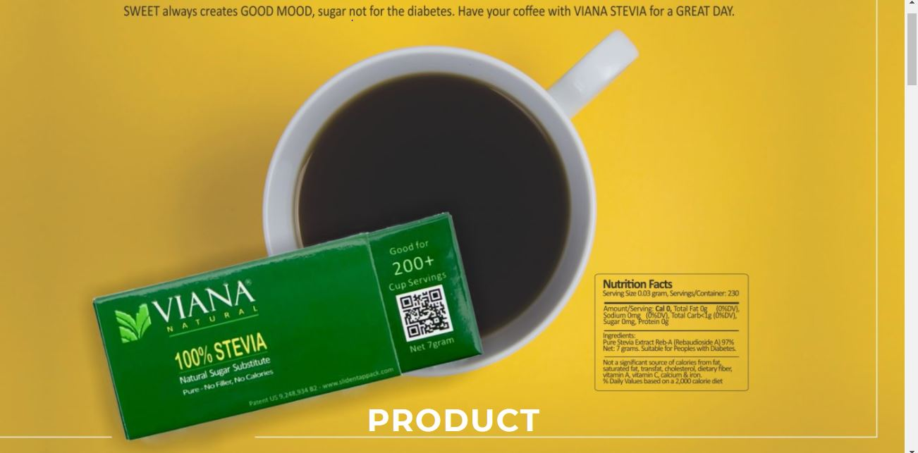 VIANA Stevia-What is it?