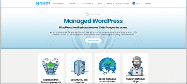 Nexcess Managed WordPress Hosting