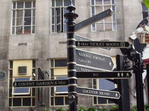London Sign Post
