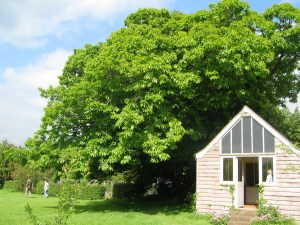 Virginia Woolf's writing Lodge at Monk's House