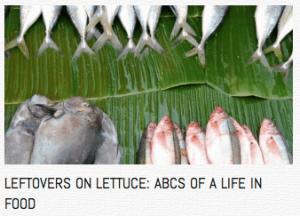 leftovers on lettuce