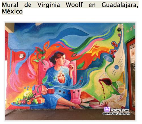 woolf mural