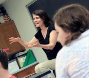 Robin Callahan, Bloomsburg High School English teacher