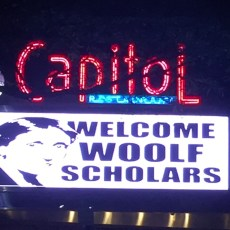 Welcome Woolf scholars