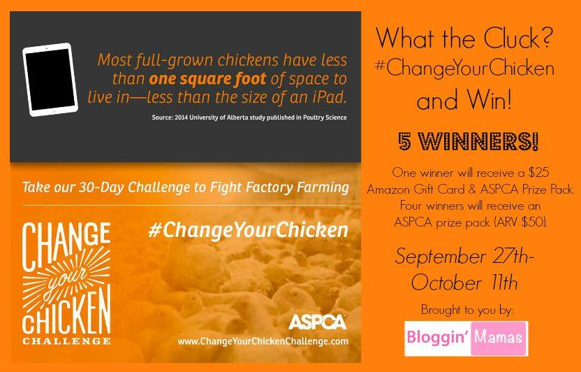 What the Cluck? Change Your Chicken and Win! Ends 10-11-15. US 18+