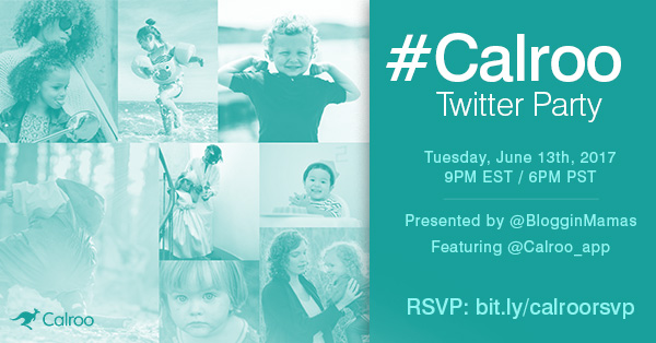 Calroo App Twitter Party 6-13-17 at 9p ET bit.ly/calroorsvp