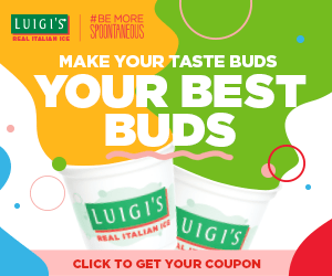 Get a $.75 off coupon for Luigi's Real Italian Ice