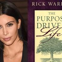 Relevant Mag: Kim Kardashian is a Purpose Driven Life Fan-girl!