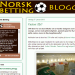 Norsk betting blogg
