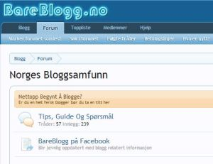 norges største blogger forum