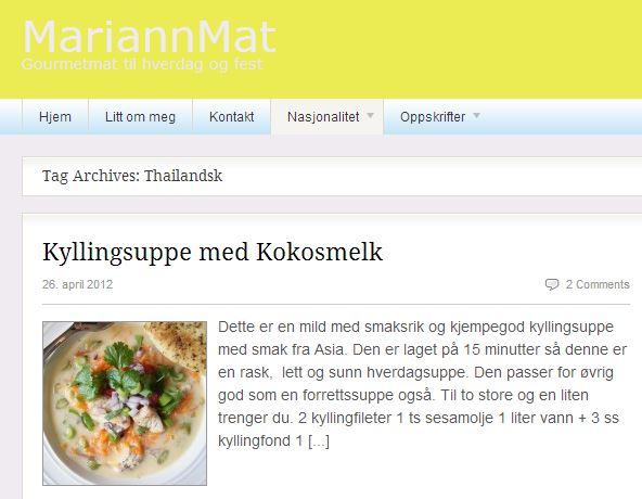 MariannMat.no