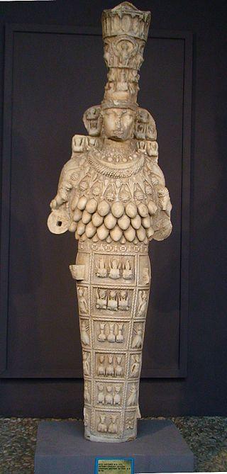 The Lady of Ephesus, 1st century AD, Ephesus Archaeological Museum