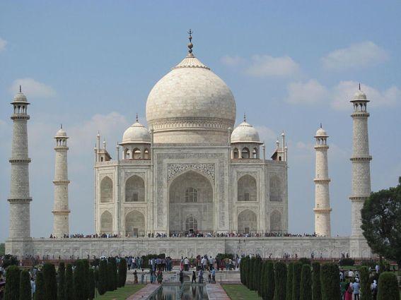 The Taj Mahal, Agra, India.