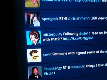 The ISTE Twitter Feed