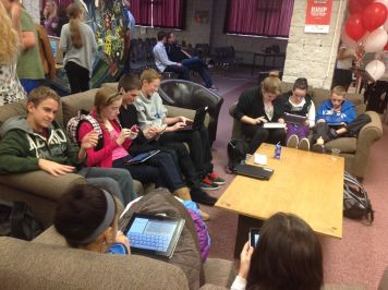 Blogging in the Learning Commons at Highland