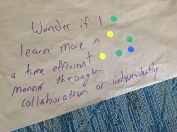 Collaboration versus Independence