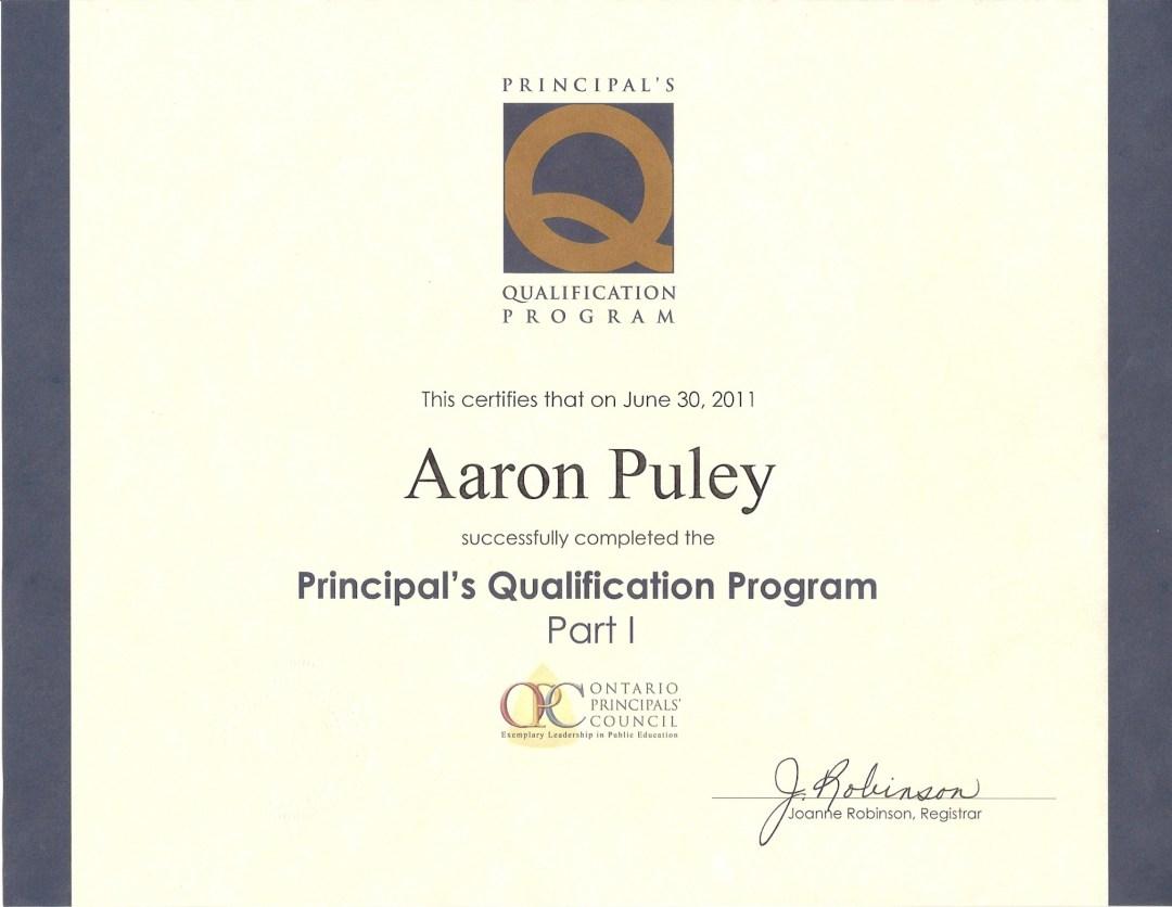 OPC - Part 1 - Certificate