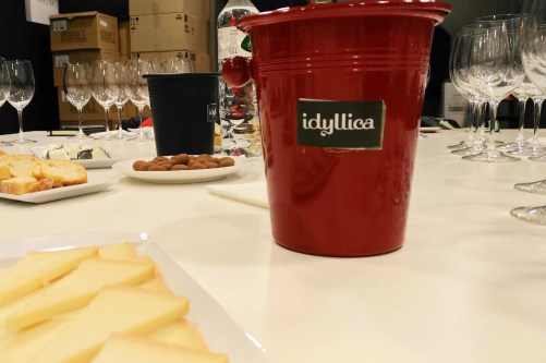 Cata de vinos de Tinto Figuero en Idyllica