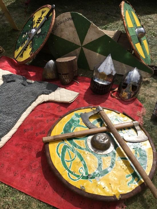 Las armas de los soldados del medievo