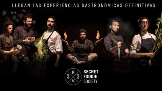 Cartel de la Secret Foodie Society