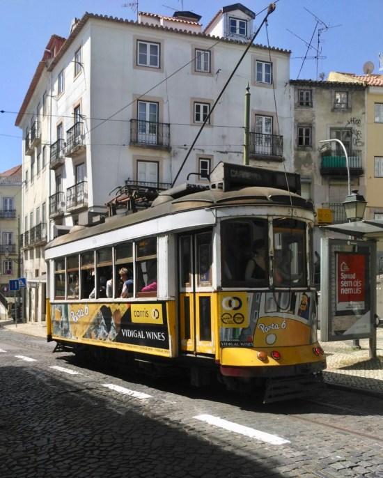 Tanvía en Lisboa