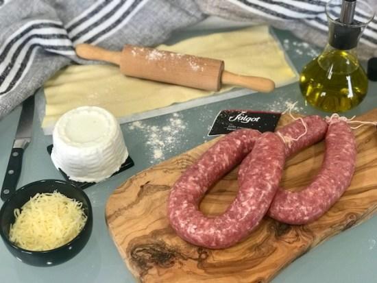 Ingredientes receta Salgot & Go