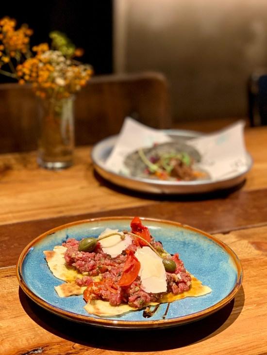 Steak tartar a la italiana