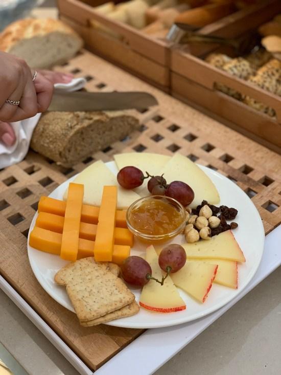 Tabla de quesos en Fergus Style Tobago