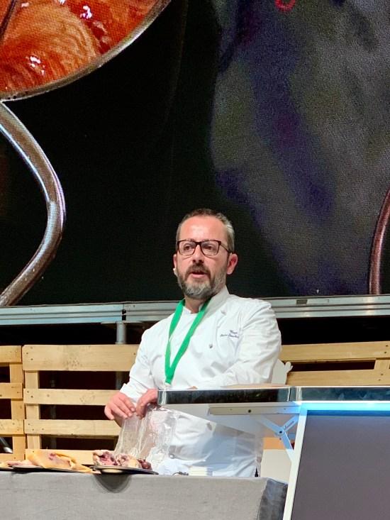 El chef Pedro Sánchez