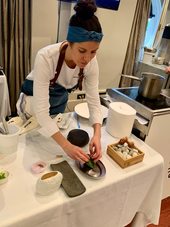 Chef Carolina Sánchez