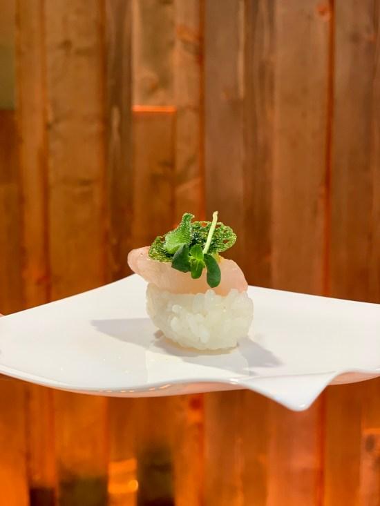Propuesta gastronómica con la lubina Aquanaria