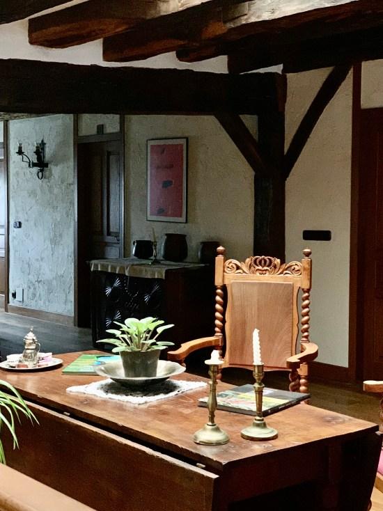 Interior del alojamiento de Lete