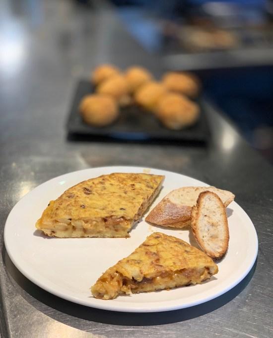 Tortilla en el Ostatu de Larraul