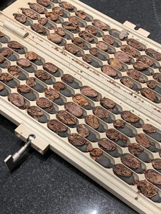 Proceso de elaboración del chocolate artesano