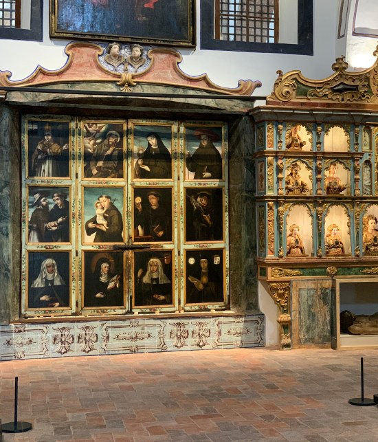 retablo de la iglesia de Jesús