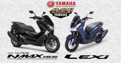 Yamaha Lexi dan Nmax