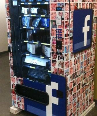 Facebook vending machine